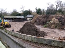 compost heap at Kew gardens