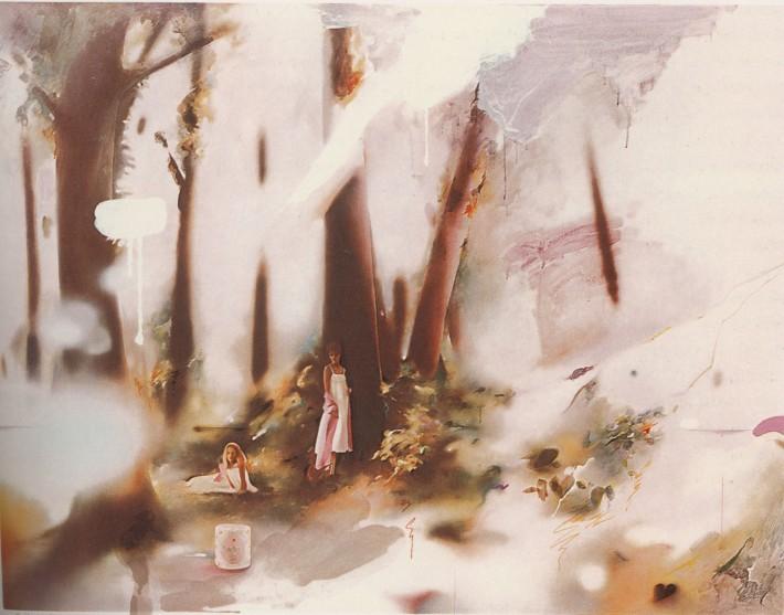 Richard Hamilton Soft Pink Landcape
