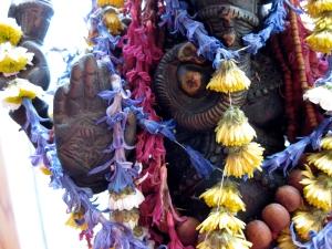 the hand of Ganesha