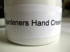 Gardeners Hand Cream from Glastonbury Country Market