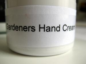 Gardeners Hand Cream from Glastonbury Country Market
