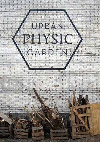 Urban Physic Garden name