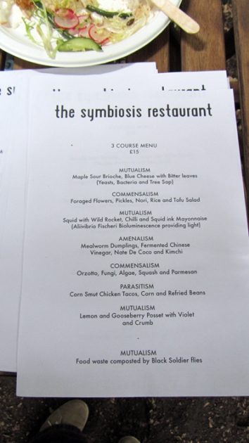 Shuffle Symbiosis restaurant