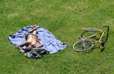 26. Man and Bike