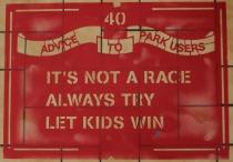Megan Garrett-Jones Advice to Park users