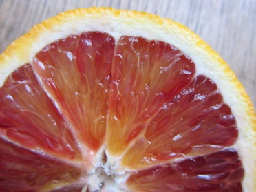 Blood orange crescent