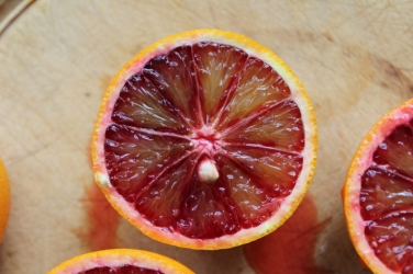 Blood Orange with pip
