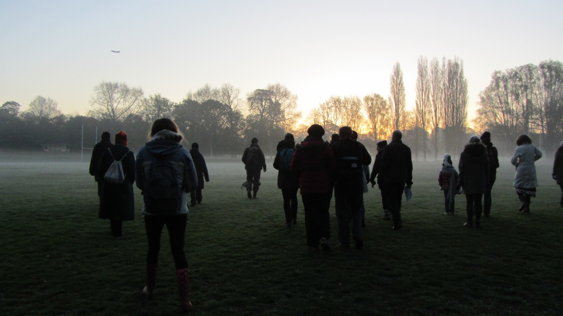 Dawn Chorus Walk in Twickenham, London2015