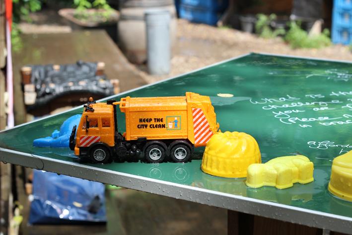 Princezzinnen Garten childrens truck